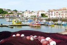 Le Pays Basque / Mes vacances au Pays Basque