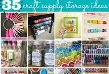 Organize it / Cute and Awesome Organizing ideas to inspire