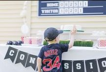 paige simple | baseball party / Baseball themed party