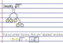 Algebra I Unit 10: Radical Expressions & Equations / algebra: simplifying radicals, operations with radicals, rationalizing the denominator, solving radical equations, the Pythagorean Theorem, trigonometric ratios