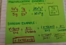 Algebra I Unit 11: Rational Expressions & Equations / algebra: simplifying rational expressions, multiplying & dividing rational expressions, dividing polynomials, adding & subtracting rational expressions, solving rational equations, applications of rational equations