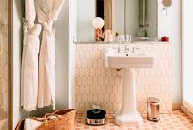 Interiors: bathrooms