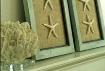 Crafts: SHELLS & BEACHY / What to do with my seashells and displays! / by Meredith M