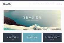 Shopify Themes / A collection of some of the themes available in the Shopify Theme Store http://themes.shopify.com / by Shopify