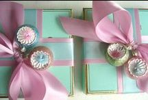 ALL WRAPPED UP! / Gift wrap ideas / by Pretty Vintage Things!
