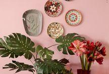 Interiors: photo/decorative walls / beautiful decorative walls