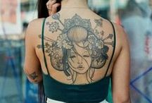 Tattoo On Her / Photography of Ink on her