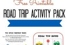 Activities For The Road / 16 Keep-'Em-Busy Road Trip Activities. Please like us on Facebook for laughs and fantastic parenting tips! https://www.facebook.com/bubblebumukltd #parenting #parents #follow4follow #teamfollowback #roadtrip #trips