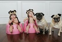 Cute Kids and Cubs / We love these kiddos, pets and outfits!