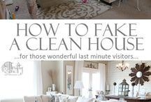 CLEANING Up / Useful cleaning tips  / by Meredith M