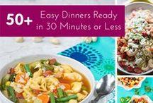 Dinner / Quick, Easy #dinner #recipes
