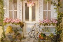 Doll Homes / Sweet little houses to decorate..I always wanted a big dollhouse to play with and decorate..never had one! / by Sandy Blazewicz Strom