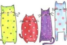 Cat prints / by Wendy Erneston