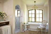 Inspiration- Bathroom Decor / bathroom inspiration, french country bathroom, gustavian bathroom, bathroom decor, bathroom cabinets, marble bathroom, french country bathroom
