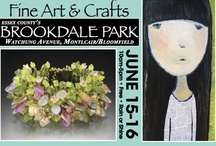 Spring Fine Art & Crafts at Brookdale Pk 2013 / Leave the internet and malls behind for the weekend of June 15-16 and walk the paths of beautiful Essex County's Brookdale Park on the border of Bloomfield and Montclair to shop for handcrafted jewelry, furniture, glass, fiber, pottery, leather, fine art and so much more. June 15-16, 10am-5pm, rain or shine  170 exhibitors. 25 annual. WWW.RoseSquared.com