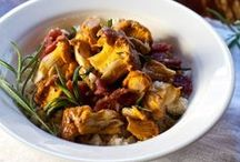 Mushrooms & Food / rEcipes where the main ingredient is the wonderful mushroom.