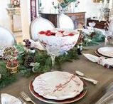 ! ~Christmas Decor Ideas~ ! / christmas decor, christmas decorating ideas, christmas home decor, christmas outdoor decor, christmas table setting, christmas centerpiece, christmas tree decor, french country christmas, christmas decorating,