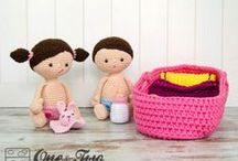 One and Two Company / Crochet Pattern by One and Two Company