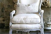 ! ~French Chairs~ ! / antique french chairs, french chairs, bergeres, french country, french country decor, french decor, romantic decor, french country decorating, french home, home decor, cottage decor, french style, home decor, Swedish decor