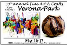 2015 Fine Art and Crafts at Verona Park / 140 juried, professional fine artists, fine crafters, photographers and speciality food vendors displaying and selling their unique work in beautiful Essex County Verona Park