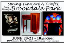2015 Spring Fine Art and Crafts at Brookdale Park / In beautiful Essex County's Blookdale Park, 170 juried, professional fine artists, fine crafters, photographers and specialty and ethnic food vendors displaying and selling their work. Free, rain or shine.