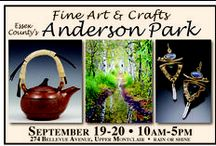 2015 Fine Art and Crafts at Anderson Park / 160 juried fine artists, fine crafters, photographers and specialty food vendors will be displaying and selling their hand-made work at Essex County's Anderson Park