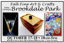 2015 Fall Fine Art and Crafts at Brookdale Park / 160 juried fine artists, fine crafters, photogrpahers and specialty food vendors presenting their unique work in Essex County's Brookdale Park