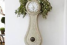 ! ~Swedish Mora Clocks~ ! / Antique swedish mora clocks, antiques, gustavian decor, swedish decor, antique clock, clocks, home decor, french country decor
