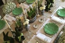 ! ~Decor Inspiration-Green~ ! / green inspiration, greenery, pantone color of the year, french country, french country decor, french decor, romantic decor, french country decorating, french home, home decor, cottage decor, french style, home decor, Swedish decor