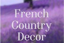 French Country Decor Ideas / To join this board: 1. Follow this board. 2 Send me a message with your Pinterest email account. Please pin kitchens, decorating ideas, DIY, gardens, house exteriors, and more, so long as it is in the French Country spirit!  Do not pin more than 10 pins per day.  No selling, spamming, or recipes. Please do not invite anyone else to pin on this board, have them contact me directly. french country, french country decor, french decor, romantic decor, french home, cottage decor, french style,