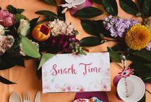 Parties: tea party / garden party
