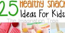 Healthy Snacks / Some of these snacks are great to be included in lunchboxes. #Snack #Recipes