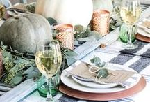 ! ~Thanksgiving Recipes & Decor~ ! / Thanksgiving recipes, thanksgiving decor, thanksgiving decor ideas, thanksgiving table, thanksgiving centerpiece, thanksgiving appetizers, french country decor, french decor, romantic decor, french country decorating, french home, home decor, cottage decor, french style, home decor, Swedish decor