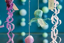 Parties: under the sea / I love styling parties and am experienced in virtual planning parties, where everything is planned for you! email: maemekko@gmail.com
