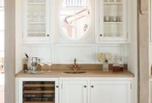 ! ~Inspiration-Pantry and Coffee Bar~ ! / pantries, pantry, coffee bar, butler's pantry, painted cabinet, kitchen cabinet, walk in pantry, kitchen, kitchen decor, pantry ideas, dream pantry