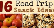 Travel Snacks / Snacks that are perfect for traveling! Healthy on the go #snacks for road trips, airplanes or anywhere else your family travel takes you.