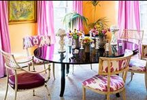 7 Designers Share Their Tips for Unexpected Color Combinations / It can be scary to venture outside the comfort zone of neturals and muted colors, but playing with unexpected combinations of shades can pay off in spades. See seven of our favorite color combinations from designers on Dering Hall and see what they had to say about the inspirations and takeaways behind their bold choices.