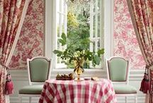 ! ~Decor Inspiration-Red~ ! / red decor inspiration, french country decor, french country, french country decor, french decor, romantic decor, french country decorating, french home, home decor, cottage decor, french style, home decor, Swedish decor
