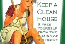 Cleaning / by Lianne Unger