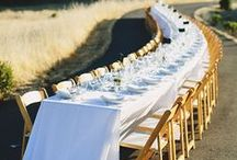 Tasteful Table Setting | Decor Inspiration / Products and events associated with Mahaffey Tent & Event Rentals