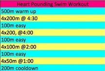 Swimming Workouts / pool workouts, triathlon swimming workouts