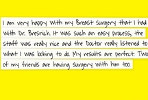 Testimonials / by Stephen Bresnick, MD