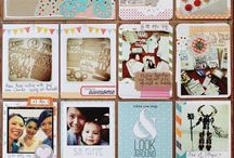 Project Life/December Daily / Project life and December Daily layout ideas / by Mylene