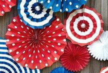 4th of July / A board filled with ideas surrounding the 4th of July. Including recipes, decor, games and more.