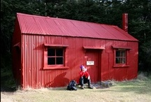 NZ Back Country Huts / Small selection of the high country huts available to anyone tramping or hiking in NZ.