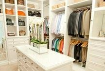 Luxury Closets / You'll be itching to redesign and reorganizing your closet once you see these luxury spaces with some of the latest fashion and trends.