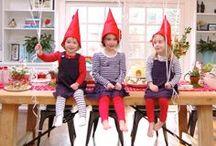 Birthday party for girls / Gnome woodland girls birthday party