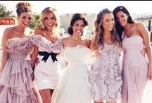 Beautiful Bridesmaids | Style Inspiration / Products and events associated with Mahaffey Tent & Event Rentals