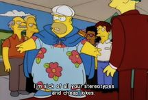 I'll just go with the muumuu. / I know everything and anything about The Simpsons!