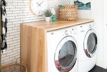 Laundry Rooms / Who said laundry had to be a chore? Make your weekly routine more enjoyable with an efficient laundry room equipped with everything you need in one space.